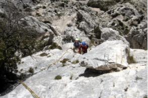 Escalade à Port Miou - marseille - cassis - calanques