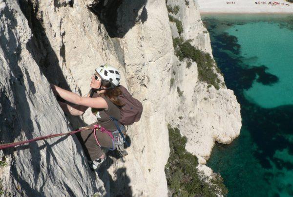 Escalade à Morgiou Calanques Marseille Cassis