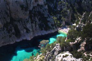 Escalade et via cordata Calanques En Vau Marseille Cassis