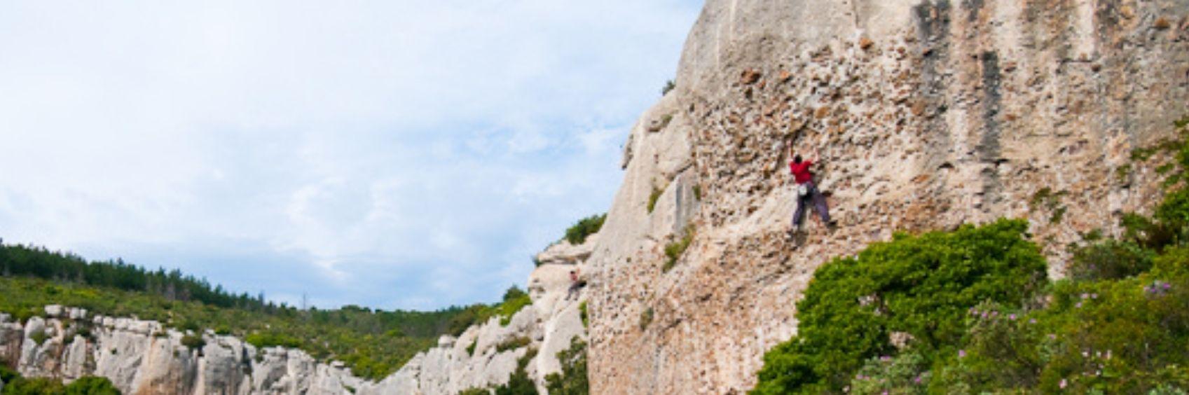 Escalade au Sémaphore Cap Canaille Calanques Cassis La Ciotat Marseille