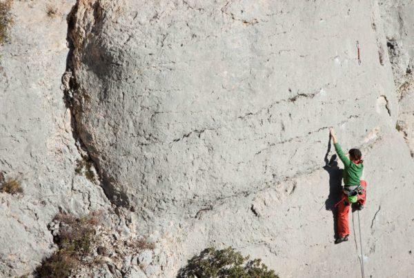 escalade meyrargues près d'aix en provence